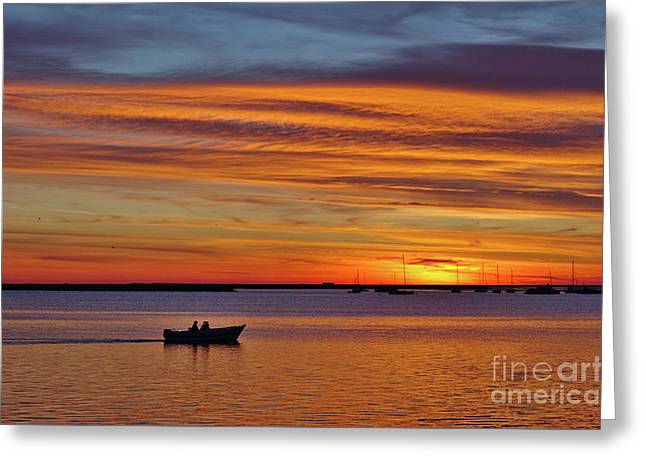 Fisherman's Return Greeting Card