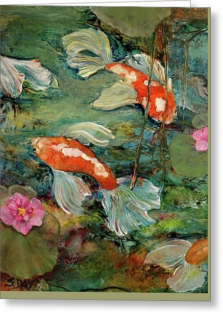 Fishy Tales Greeting Card