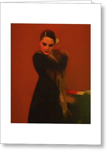 Flamenco Series 2 Greeting Card