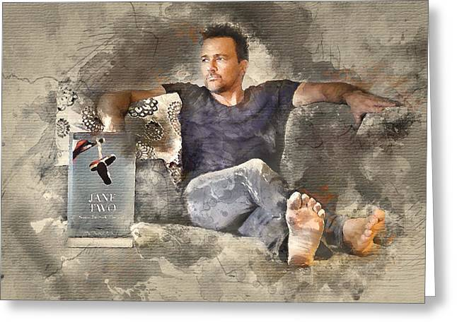 Flanery With Jane Two Greeting Card