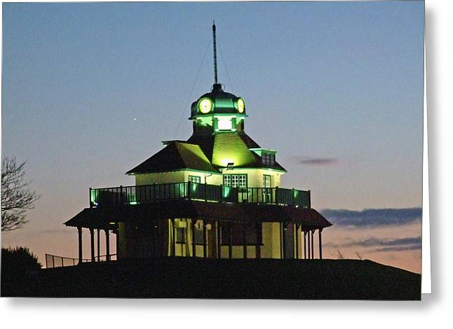 Fleetwood. The Mount Pavillion. Greeting Card