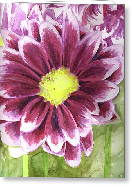 Flor Greeting Card