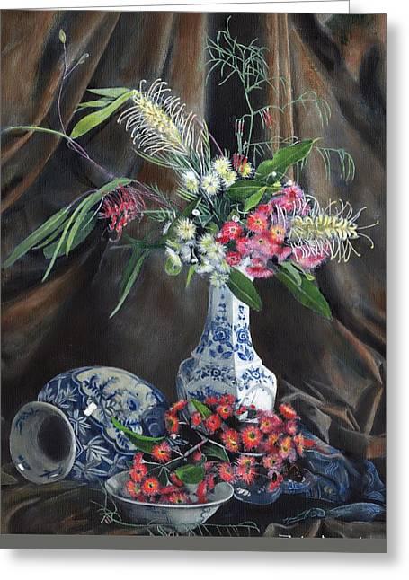 Floral Arrangement Greeting Card