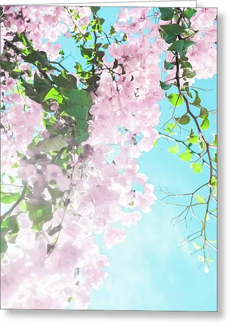 Floral Dreams IIi Greeting Card