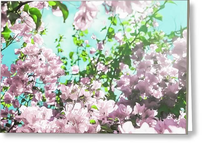 Floral Dreams V Greeting Card
