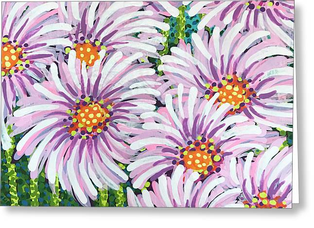 Floral Whimsy 1 Greeting Card