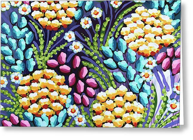 Floral Whimsy 2 Greeting Card