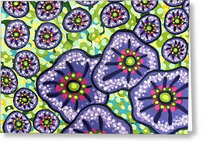 Floral Whimsy 4 Greeting Card