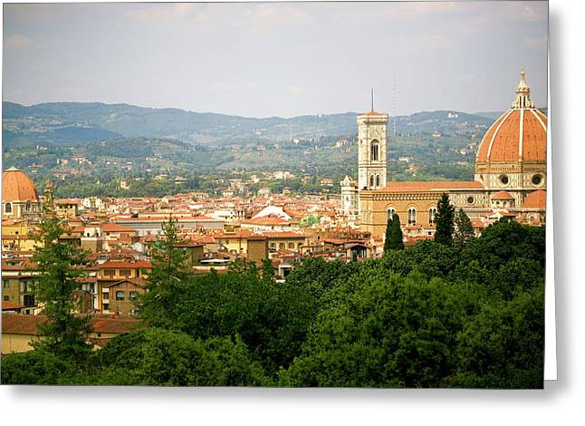 Florence Italy Cityscape Greeting Card