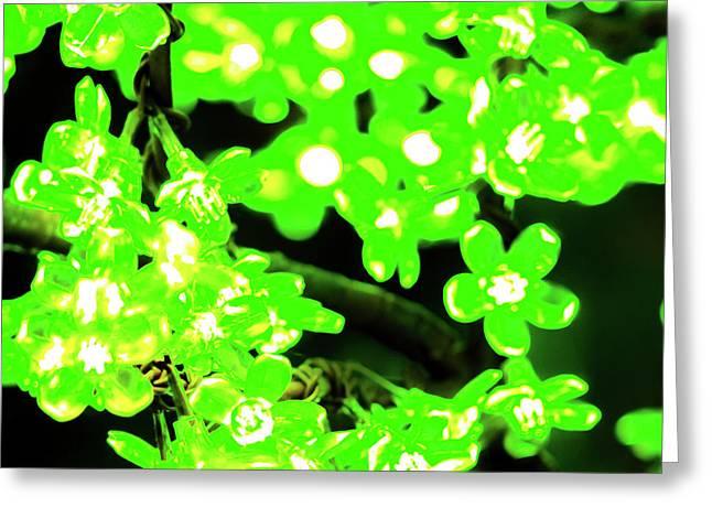 Flower Lights 7 Greeting Card