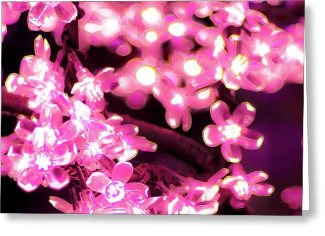 Flower Lights 9 Greeting Card