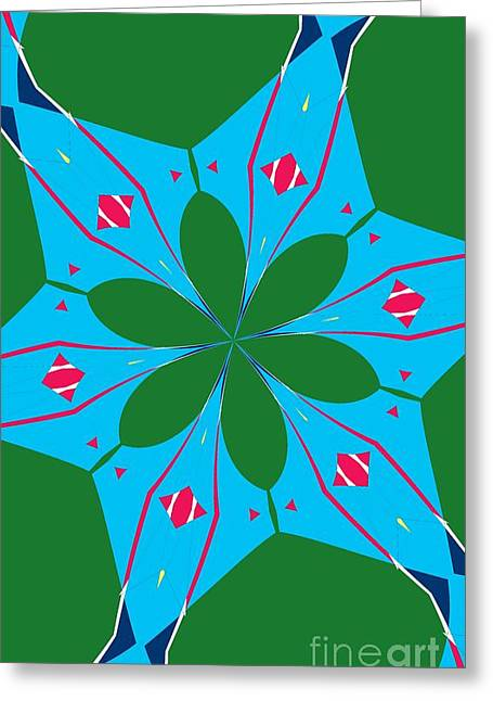 Flowers Number 23 Greeting Card
