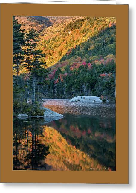 Foliage Burst At Kinsman Notch Greeting Card