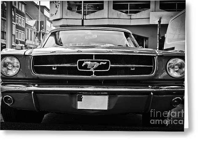 Ford Mustang Vintage 1 Greeting Card