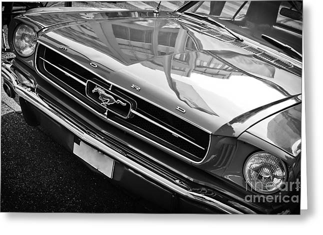 Ford Mustang Vintage 2 Greeting Card