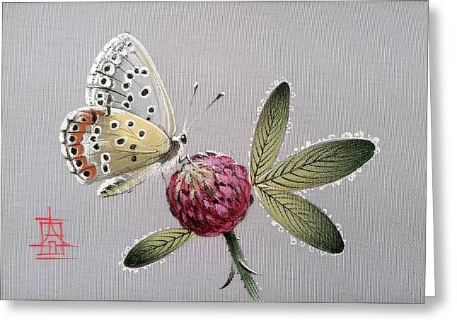 Forest Butterfly Greeting Card
