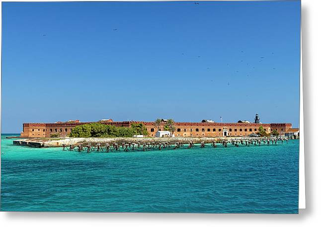 Fort Jefferson, Dry Tortugas National Park Greeting Card