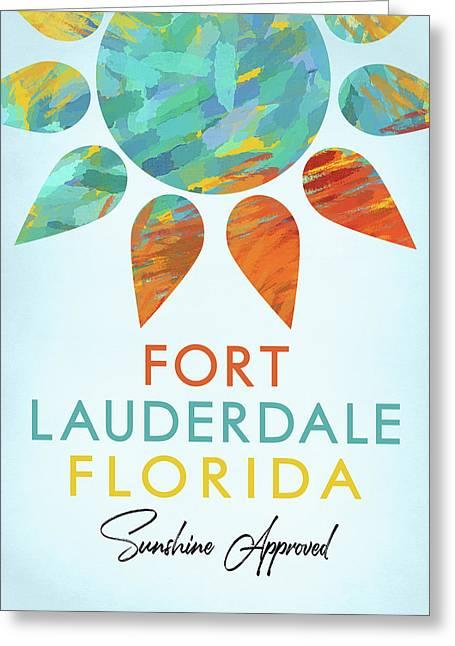 Fort Lauderdale Florida Sunshine Greeting Card