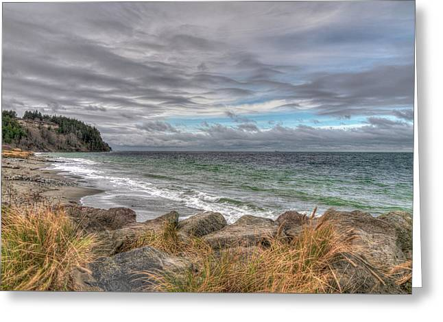 Fort Worden State Park Beach Greeting Card