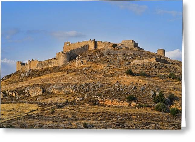 Greeting Card featuring the photograph Fortress Larissa by Milan Ljubisavljevic