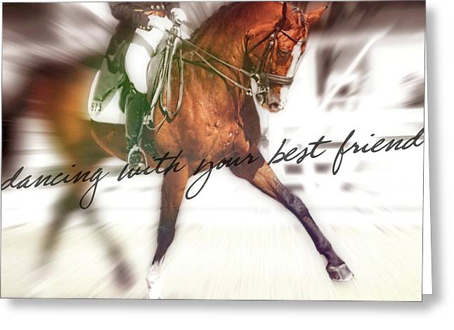 Greeting Card featuring the photograph Forward Motion by JAMART Photography
