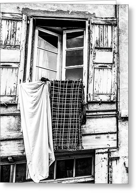 Franch Laundry Greeting Card