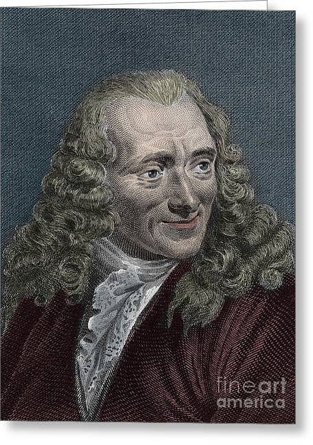 Francois-marie Arouet Or Voltaire Greeting Card
