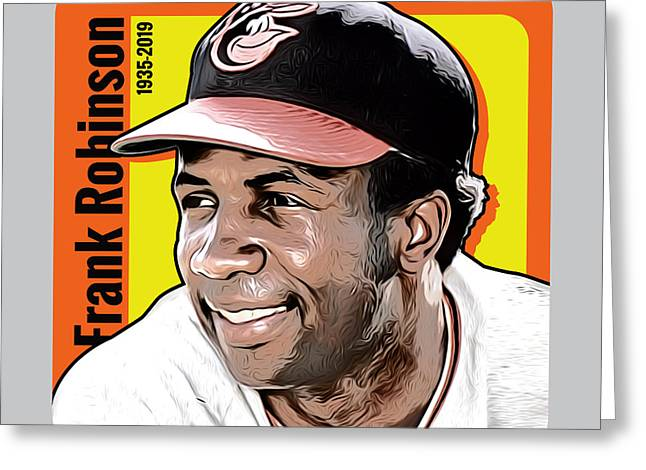 Frank Robinson Tribute Greeting Card