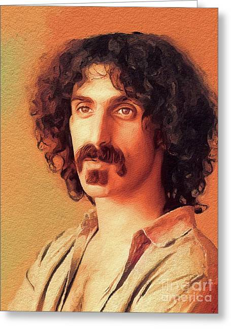 Frank Zappa, Music Legend Greeting Card