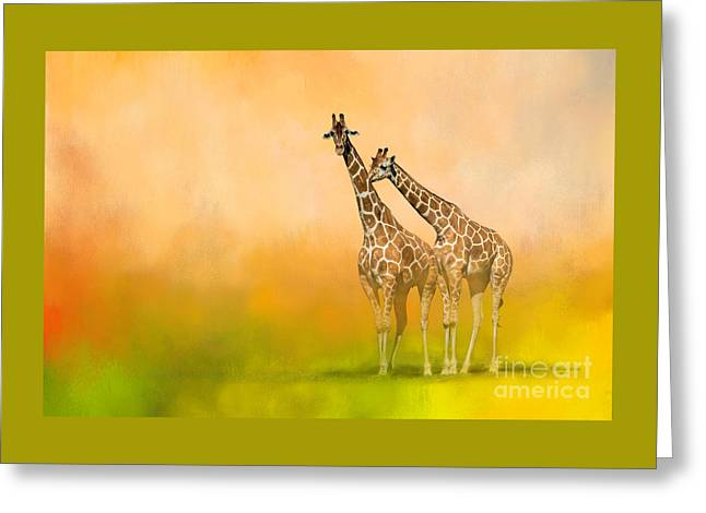Friends For Life Greeting Card
