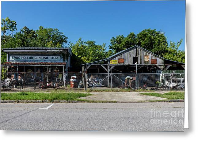 Frog Hollow General Store - Augusta Ga Greeting Card