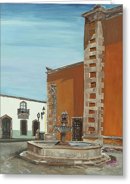 Fuente Greeting Card