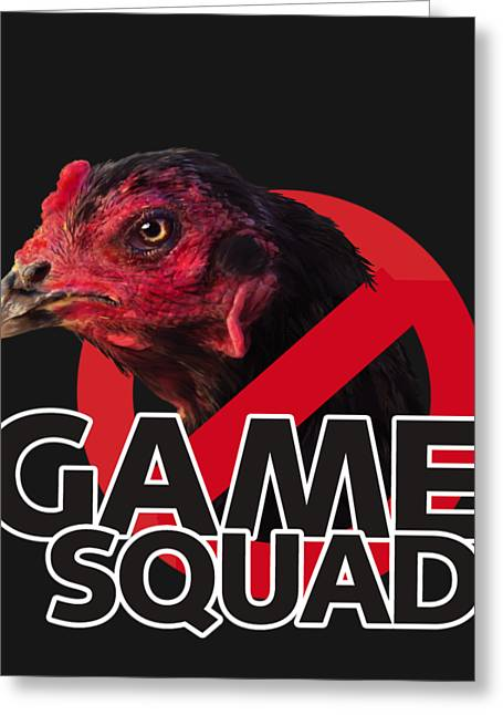 Game Squad Greeting Card