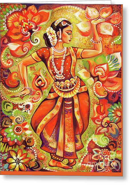 Ganges Flower Greeting Card