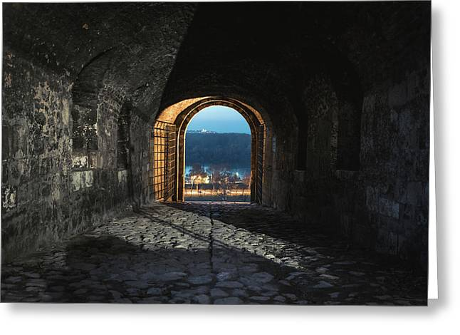 Gate At Kalemegdan Fortress, Belgrade Greeting Card