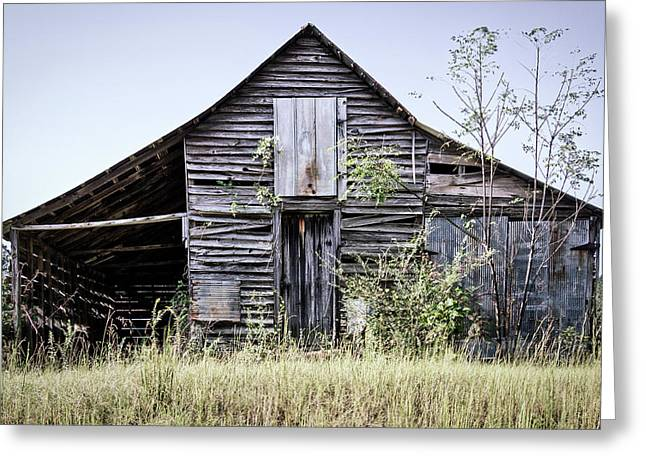 Greeting Card featuring the photograph Georgia Barn by Randy Bayne