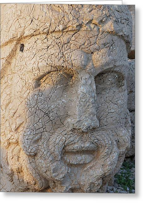 Giant Head Of Heracles,  Tumulus Greeting Card