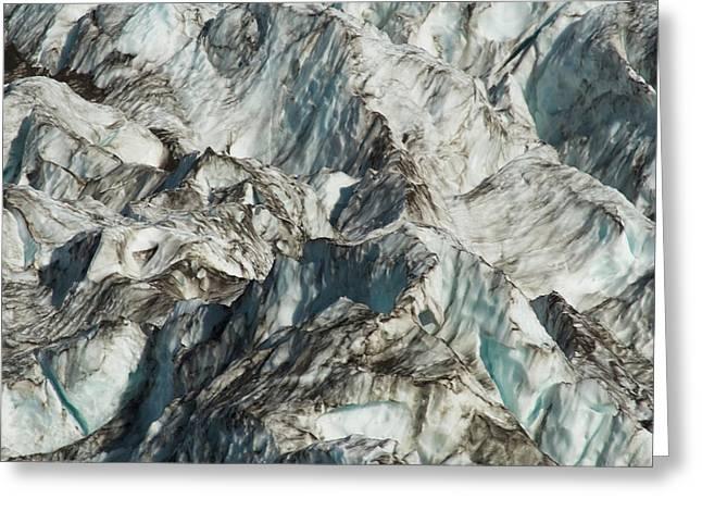 Glacier Ice 1 Greeting Card