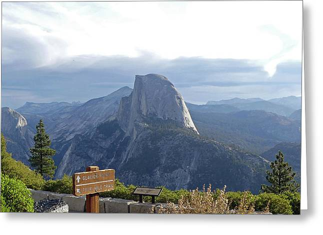 Glacier Point Greeting Card