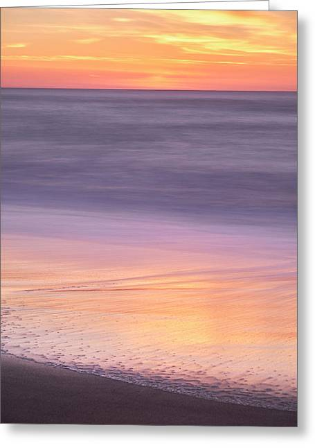 Gleneden Beach Sunset Greeting Card
