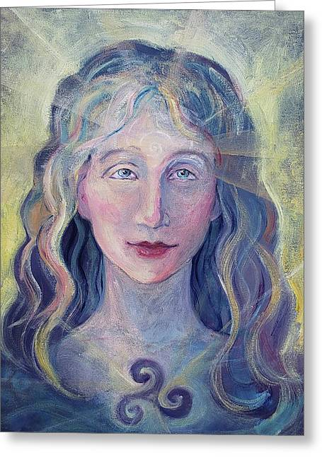 Goddess Brigid Greeting Card