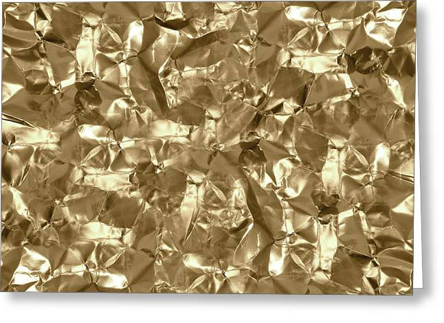 Gold Best Gift  Greeting Card