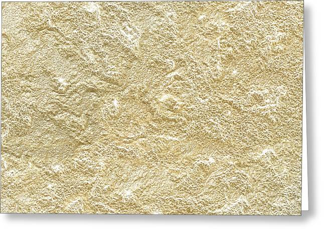 Gold Stone  Greeting Card