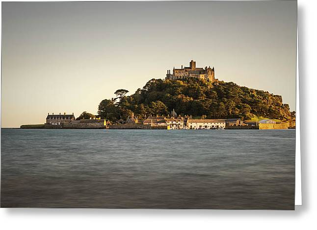 Golden Hour At St Michael's Mount Greeting Card