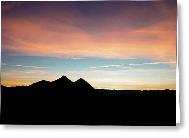 Goodnight Death Valley Greeting Card