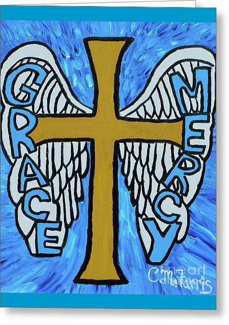 Grace And Mercy Greeting Card