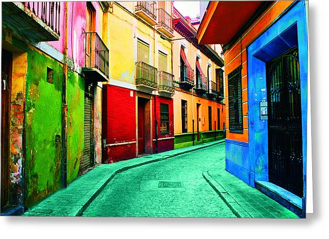 Granada, Spain Greeting Card