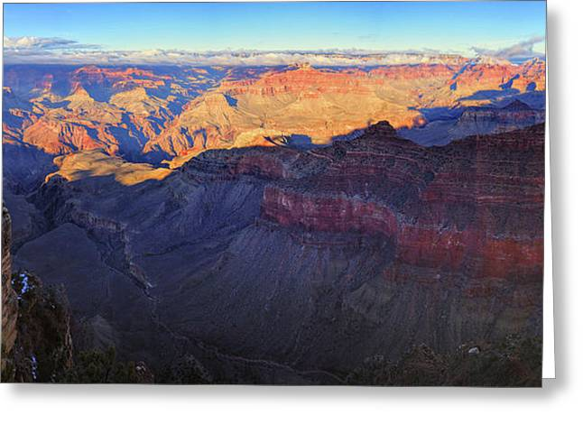 Grand Canyon Panorama Greeting Card