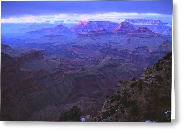 Grand Canyon Twilight Greeting Card