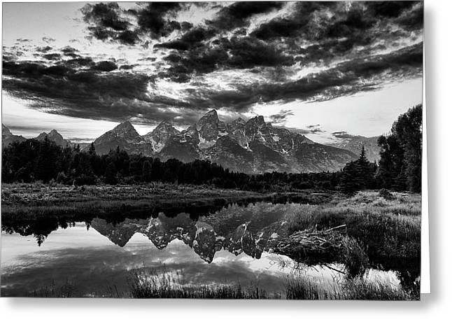 Grand Tetons, Wyoming Greeting Card